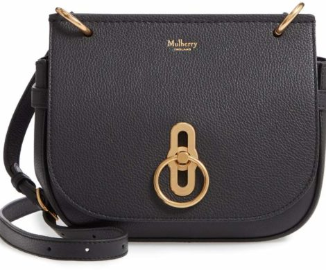 Mulberry Small Amberley Leather Crossbody Bag