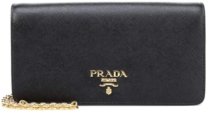 Prada Saffiano leather crossbody bag