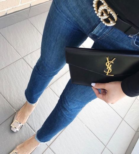 YSL Uptown Pouch – The Best First YSL Purchase