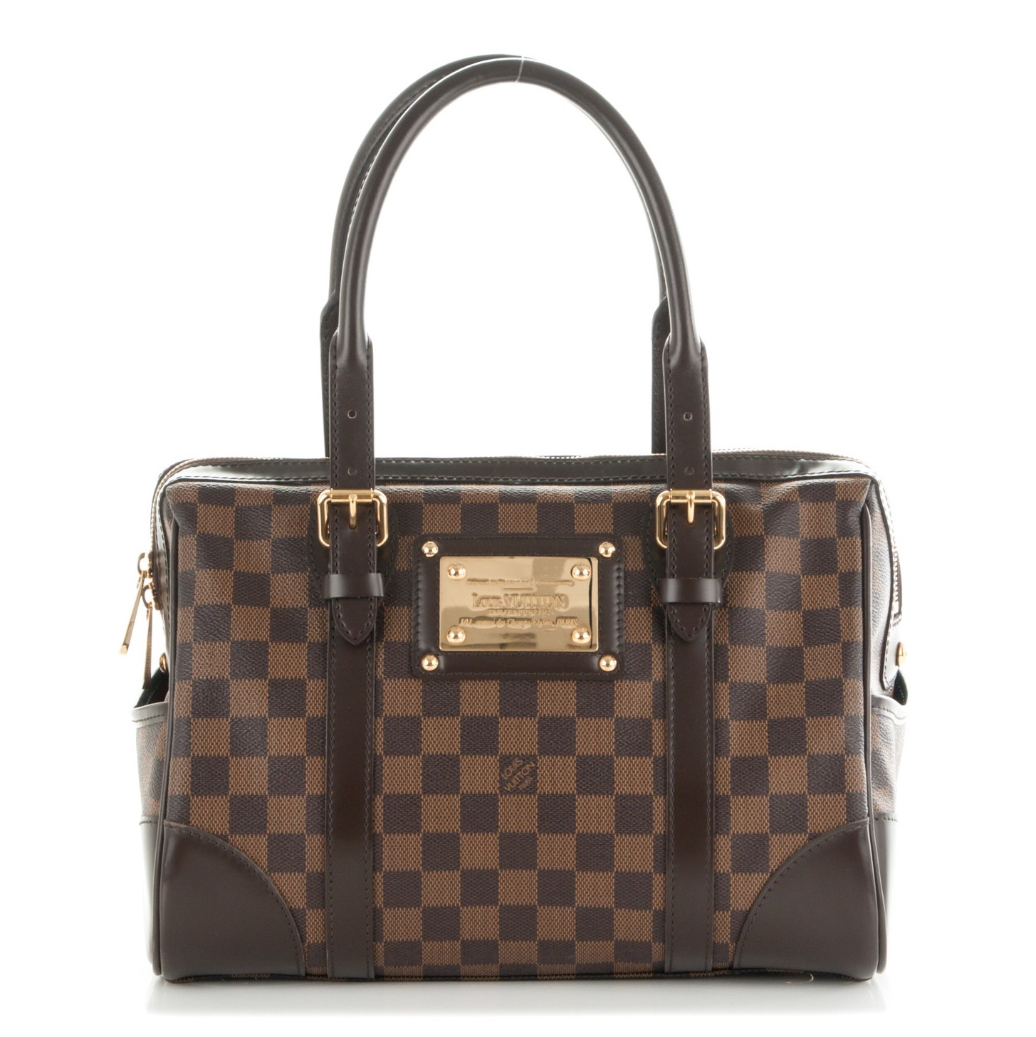 Louis Vuitton Berkeley Satchel Damier Ebene