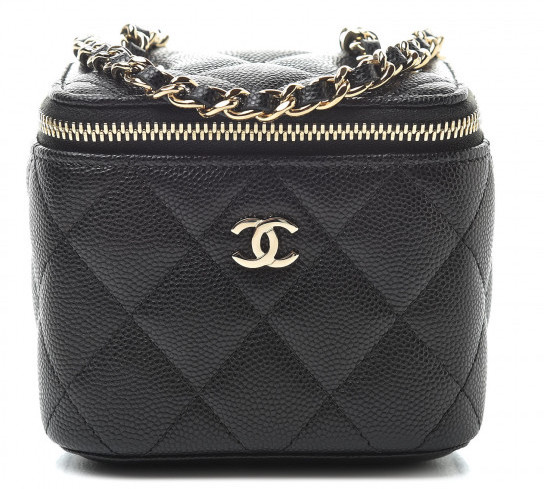 Chanel Mini Vanity Case with Classic Chain