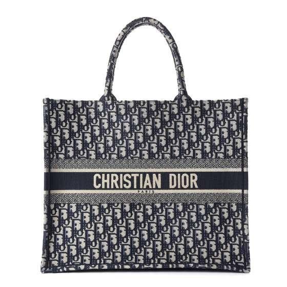 Dior Book Tote Oblique Print