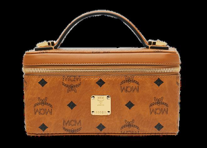 MCM Rockstar Vanity Case Cognac
