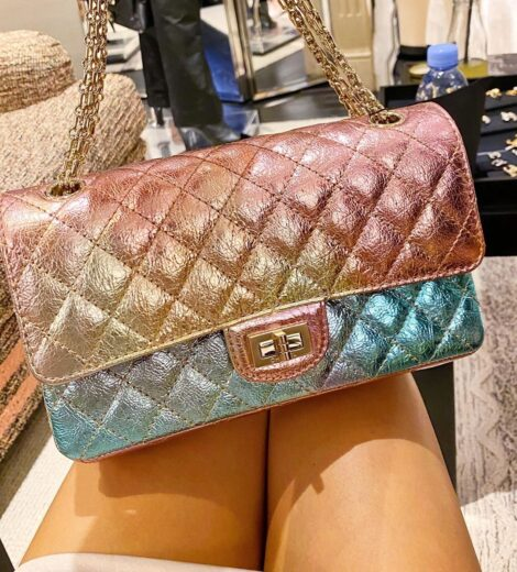 Chanel 20A Rainbow Reissue 2.55 Bag – Métiers d'Art 2020