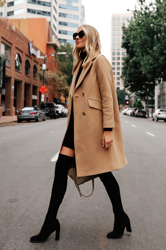 Over-the-knee boot trend FW 20-21