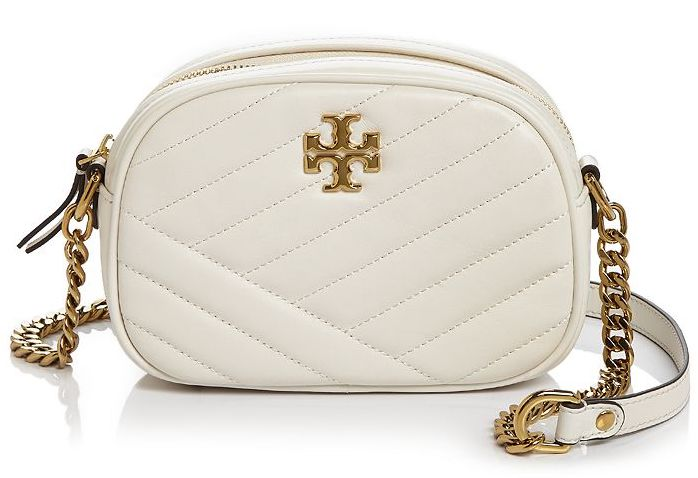 Tory Burch Kira Chevron Small Leather Camera Crossbody