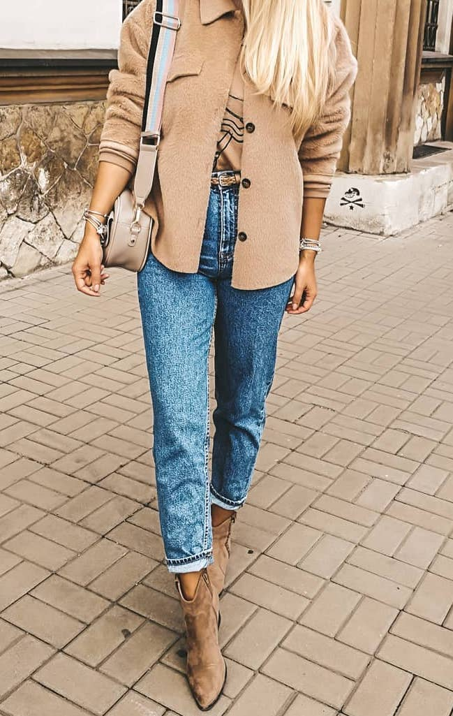 Zara outfit blue jeans