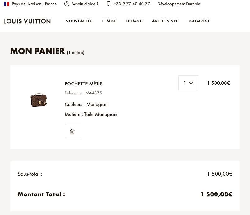 Louis Vuitton Pochette Metis Price Europe