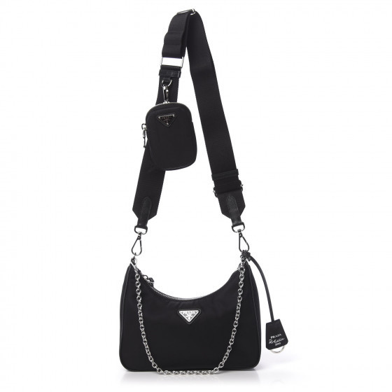 Prada Re-Edition 2005 Nylon Shoulder Bag