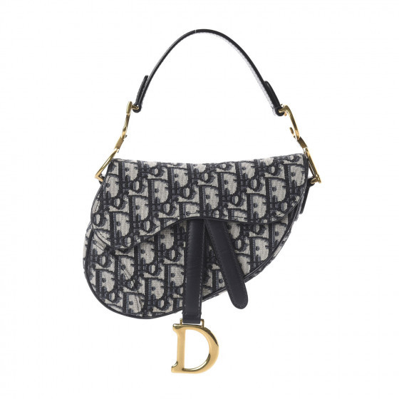 Dior Saddle Bag Oblique