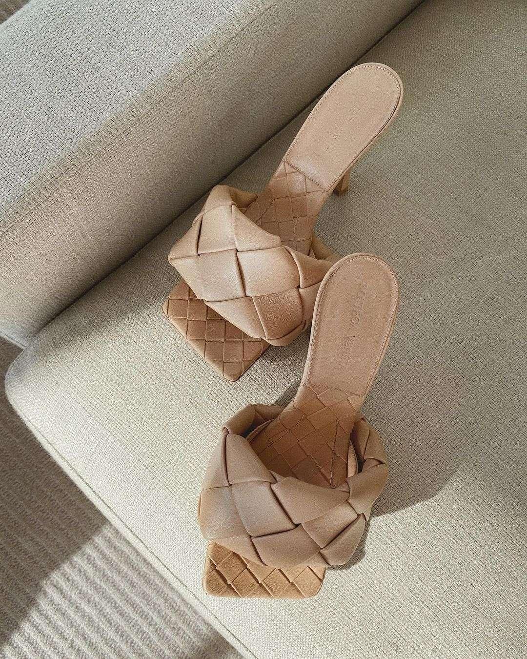 Bottega Veneta Lido Sandals