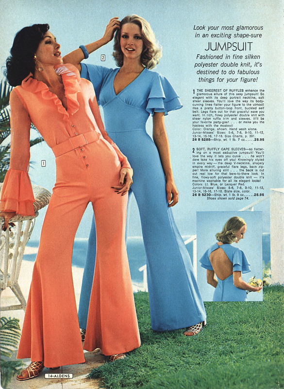 70's jumsuits for women