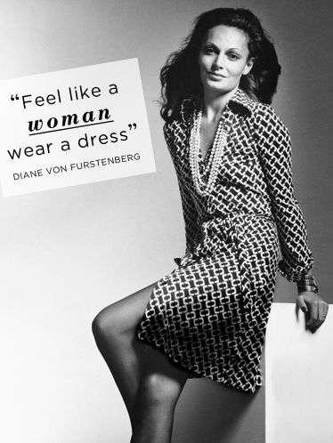Diane Von Furstenberg 1974 Wrap Dress