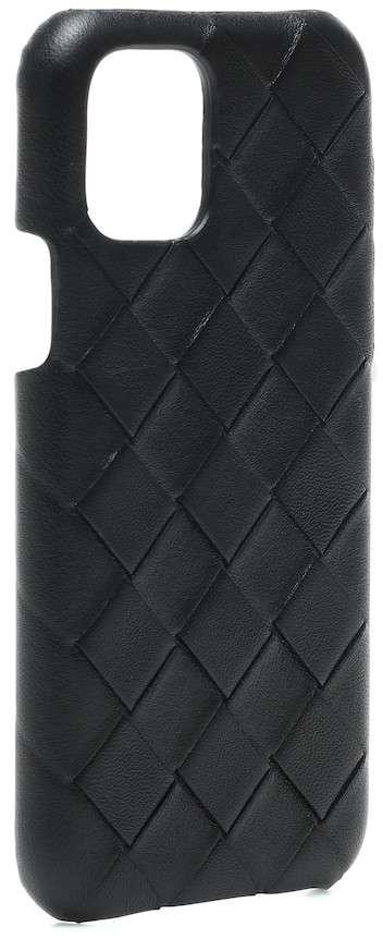 Saint Laurent Leather iPhone Case