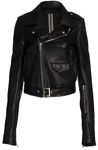 Rick Owens Lukes Stooges Leather Jacket
