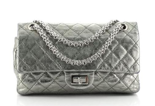 Chanel 2.55 Reissue in Quilted Metallic Calfskin