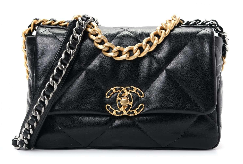 Chanel 19 Bag in Shiny Goatskin