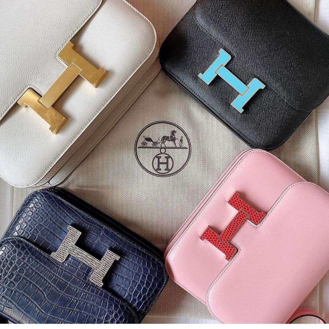Hermes Constance Bag Materials
