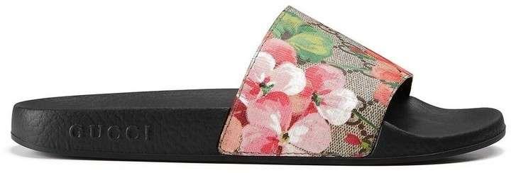 Gucci GG Blooms Slides
