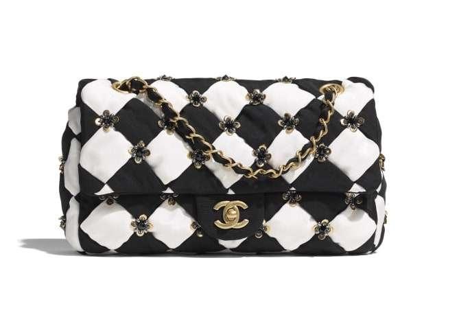 Chanel Silk Flap Bag Métiers D'Art 2021