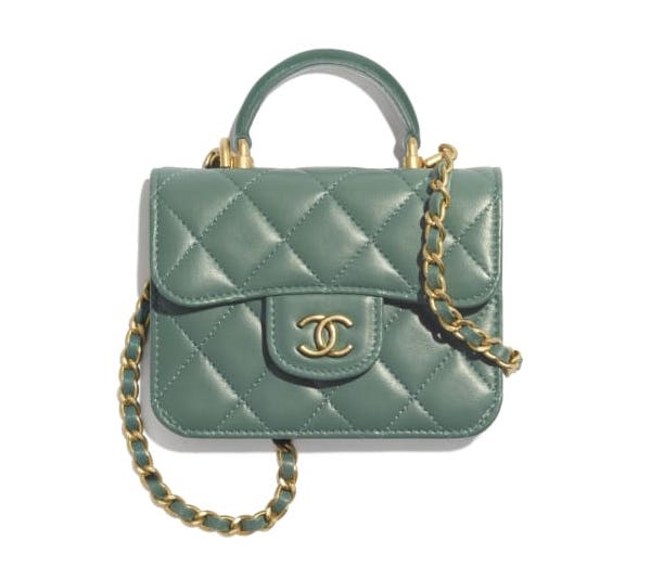 Chanel Flap Coin Purse With Chain Metiers D'Art 2021