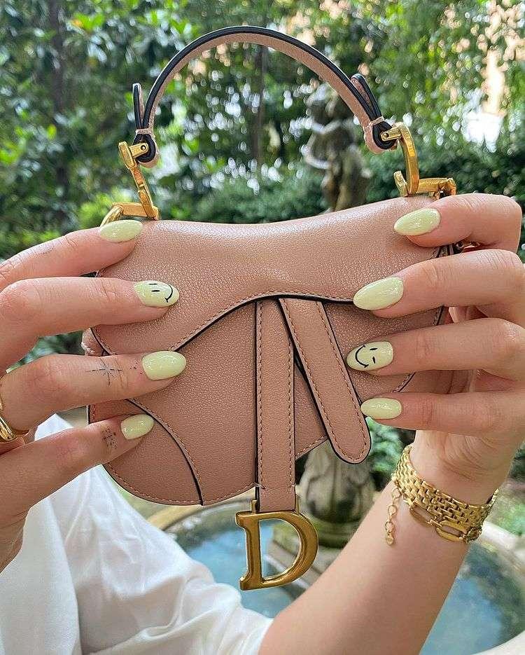Micro Dior Saddle Bag