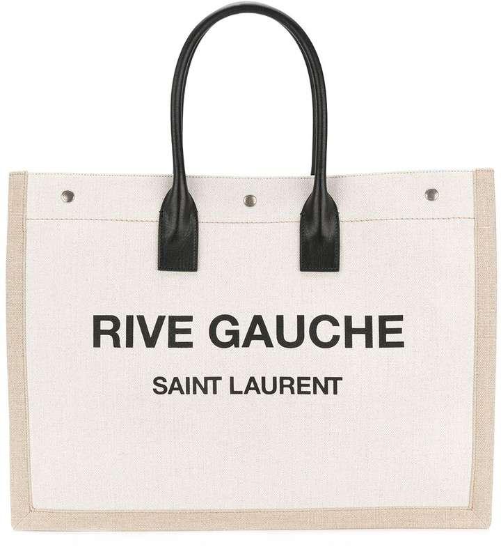 YSL Rive Gauche Logo Tote