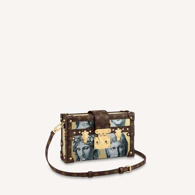 Louis Vuitton x Fornasetti Petite Malle