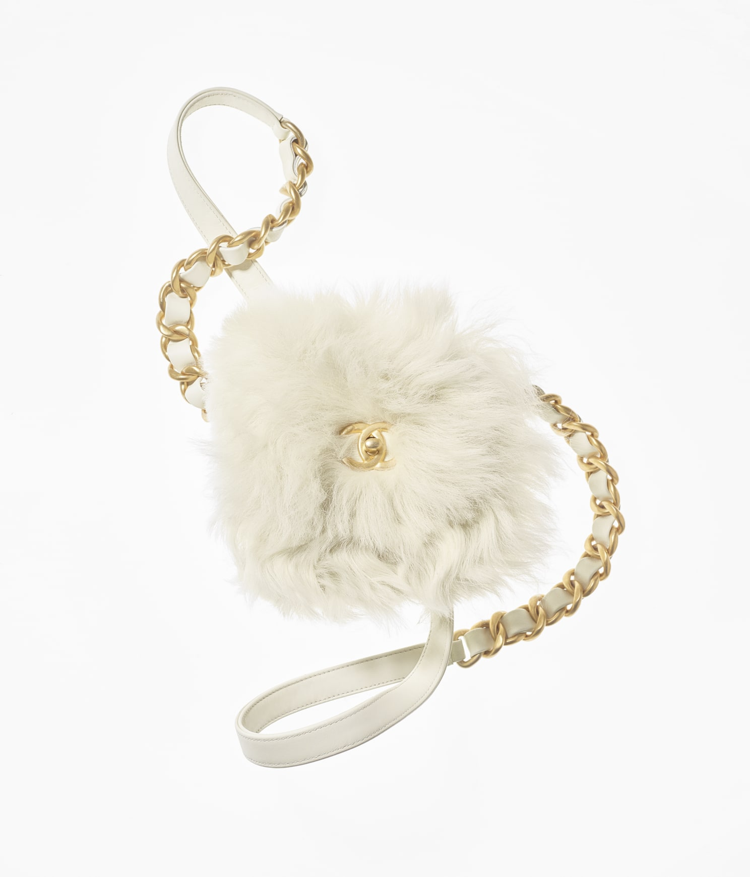 Chanel Mini Flap Bag in Shearling