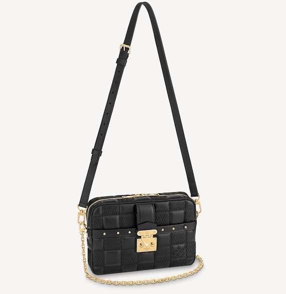 Louis Vuitton Troca MM Black